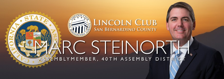 Marc Steinorth California Assembly, 40th District