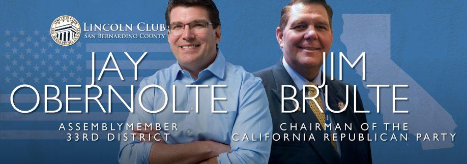 Jay Obernolte, Assembly - Lincoln Club of San Bernardino County