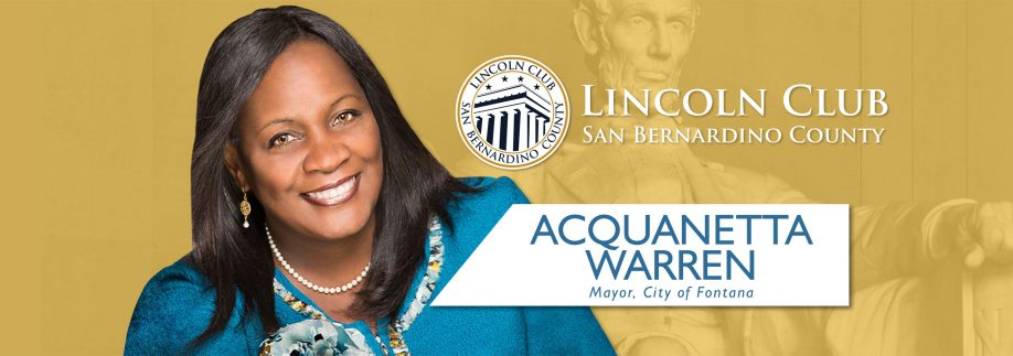 Luncheon With Special Guest Acquanetta Warren - Lincoln Club of San Bernardino County Event