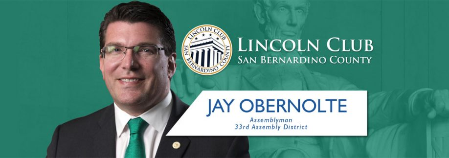 Jay Obernolte - Lincoln Club San Bernardino County - Event