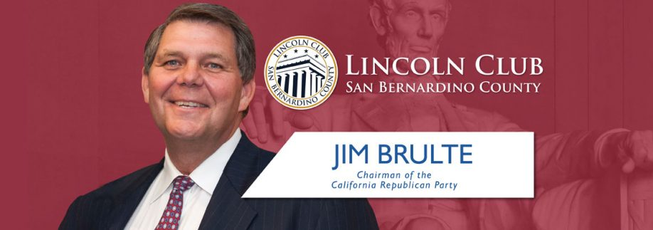 Jim Brulte - Lincoln Club of San Bernardino County - Event