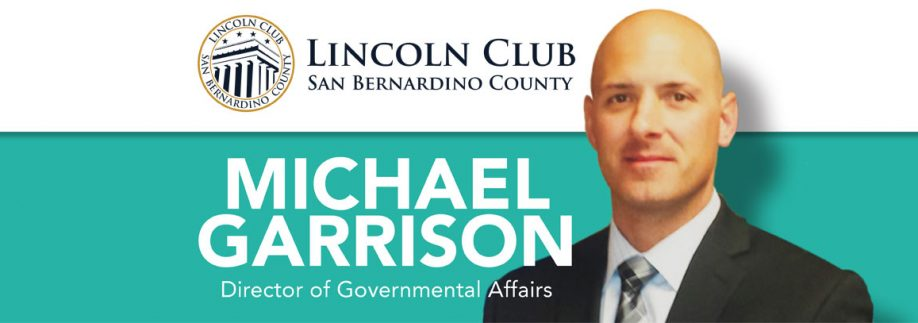 Luncheon With Special Guest Michael Garrison - Lincoln Club of San Bernardino County Event