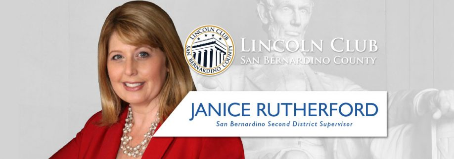 Janice Rutherford - Lincoln Club San Bernardino County - Event