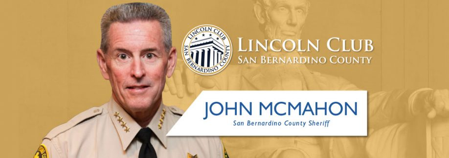 John McMahon - Lincoln Club San Bernardino - Event